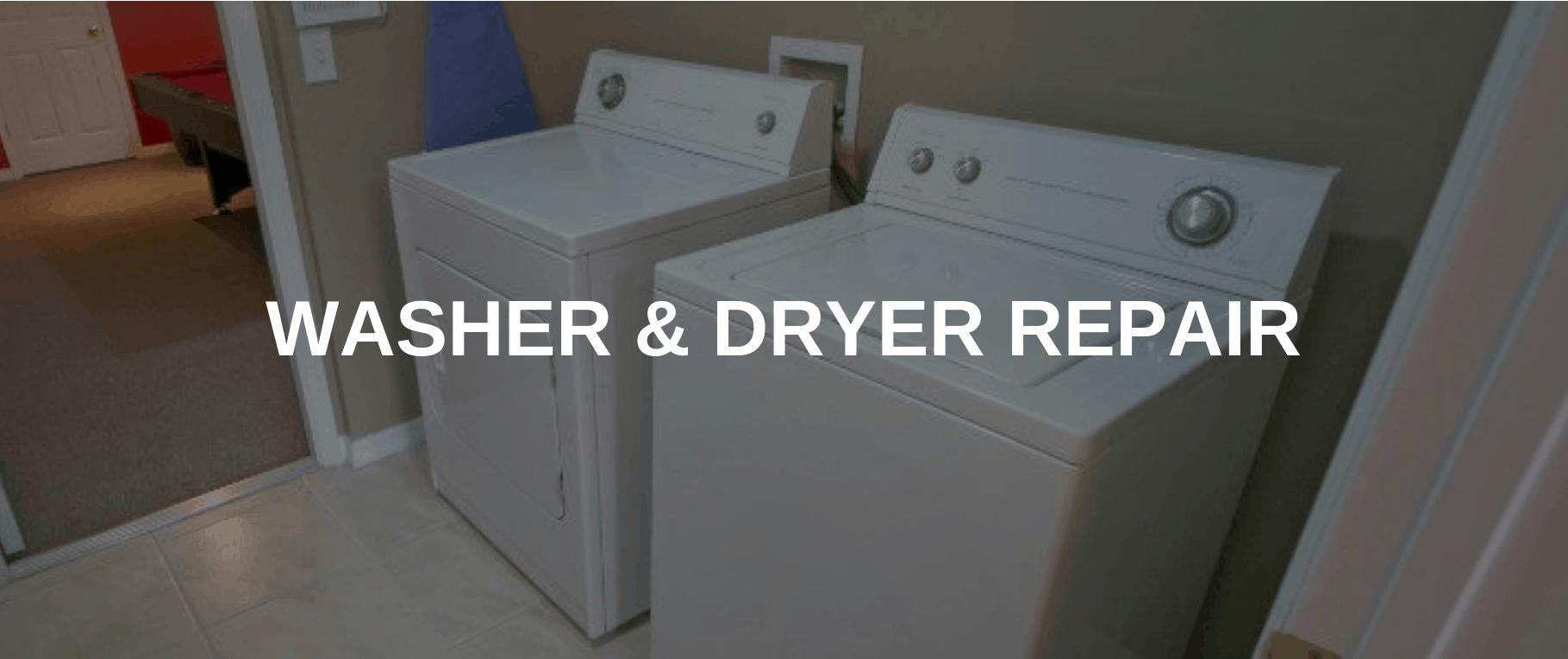 washing machine repair fremont